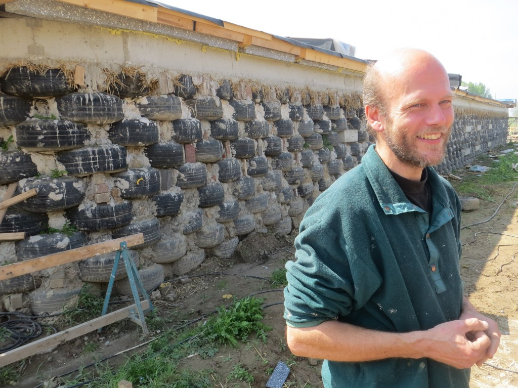 Paul Hendriksen is the founder of the Earthship Olst collective