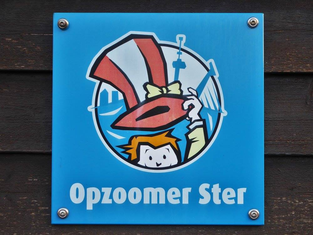 This street participating in the Opzoomeren movement has received special recognition as a star.