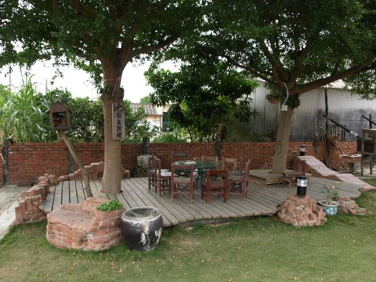 This is one of many front yard parks created by the neighbors of Tugo village in Taiwan.