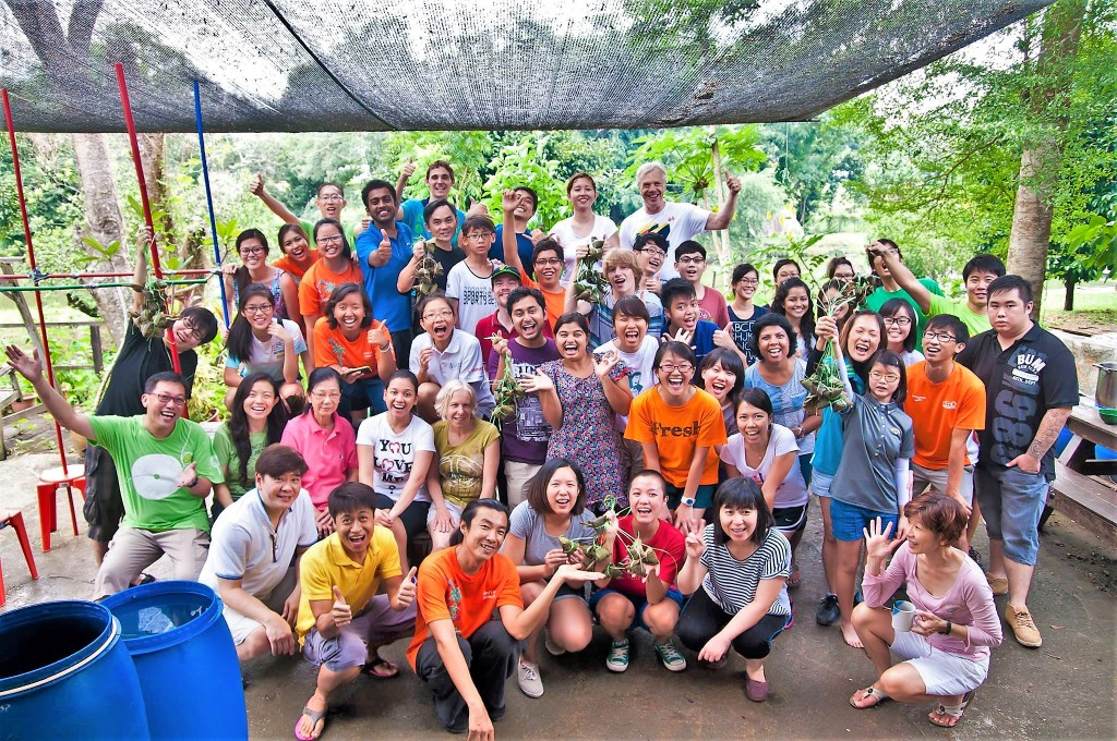 These young people are working to create what they call a 21st century kampong (or community) in Singapore.